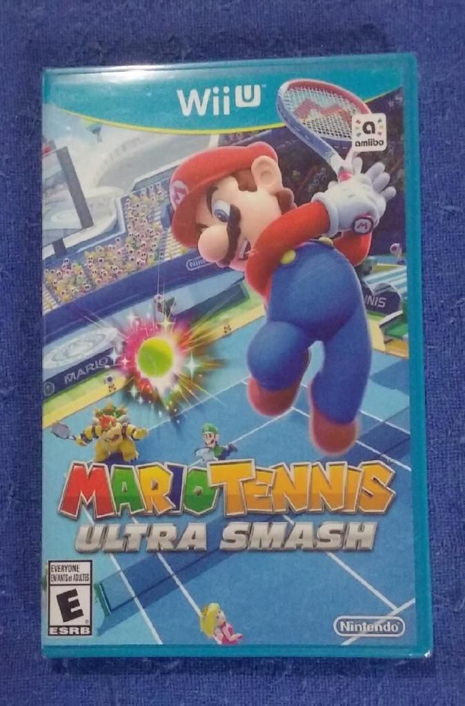 Juego Mario Tennis Ultra Smash Nintendo Wii U. Original