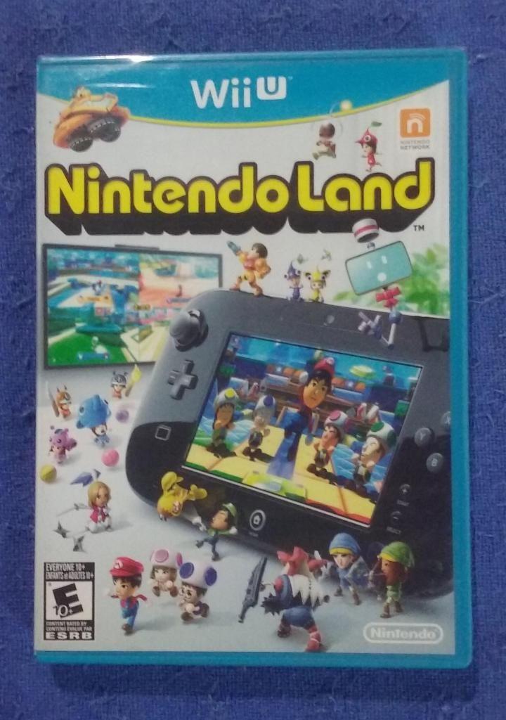 Juego Nintendo Land. Para Nintendo Wii U. Original Nuevo