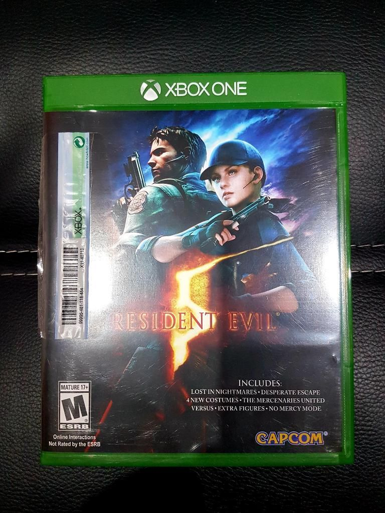 Juego Resident Evil 5 para Xbox One