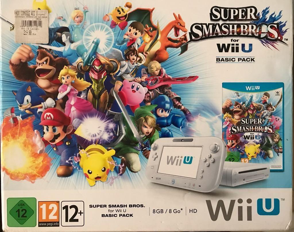 Nintendo Wii U Europeo Negociable