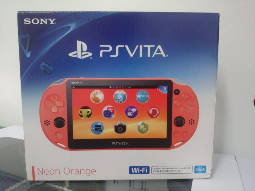 Ps Vita Neón Orange