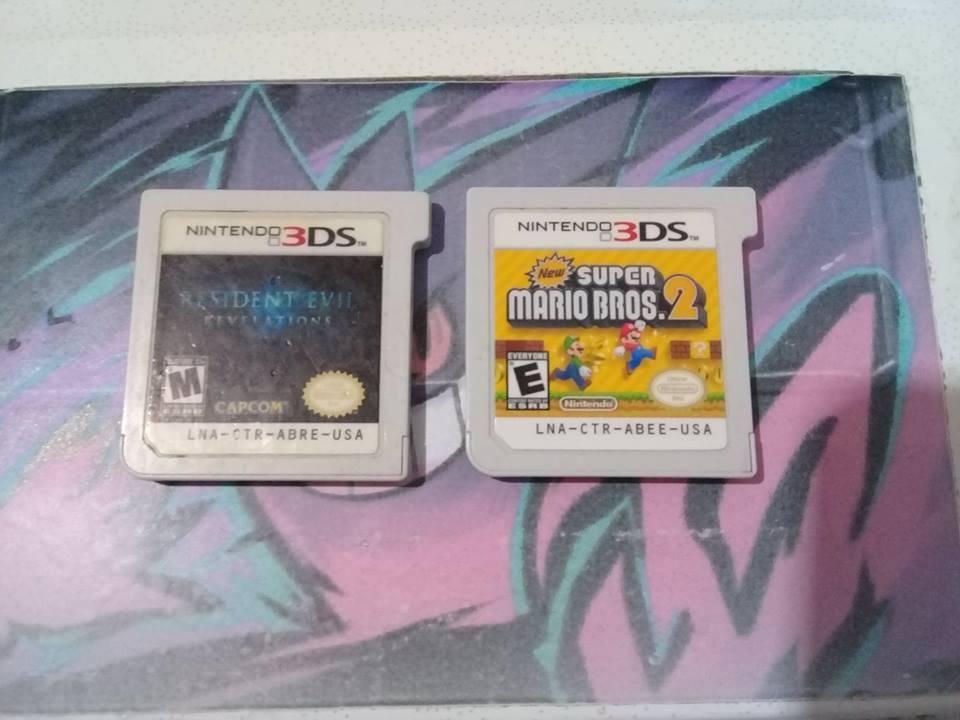 Se vende los dos juegos de 3ds a 50 mil