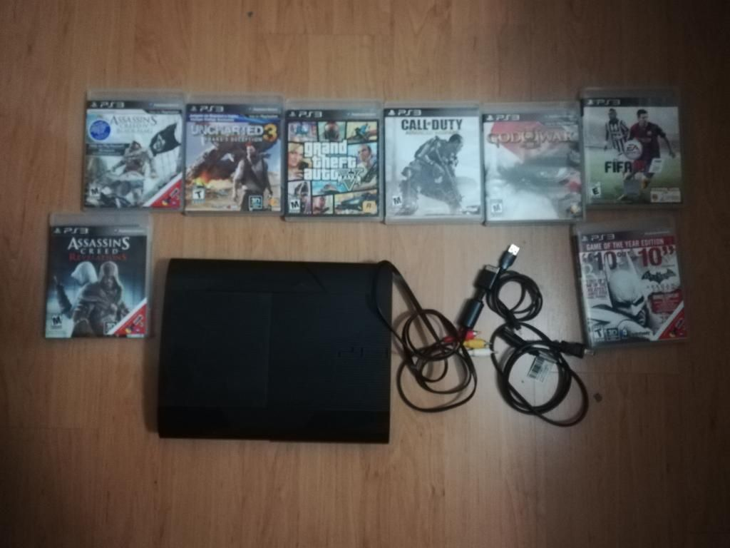 Vendo Ps3 Super Slim 500gb