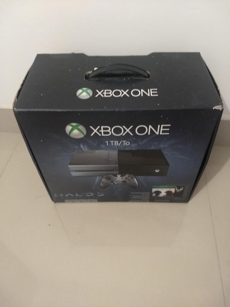xbox one edicion halo 5 guardians de 1 tb