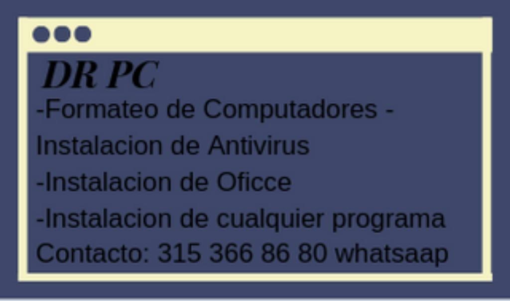 Arreglo Software de Pc Y Celulares