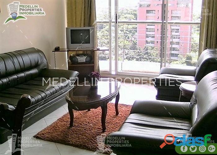 Arriendo de Apartamentos Amoblados en Medellín Cód: 4050