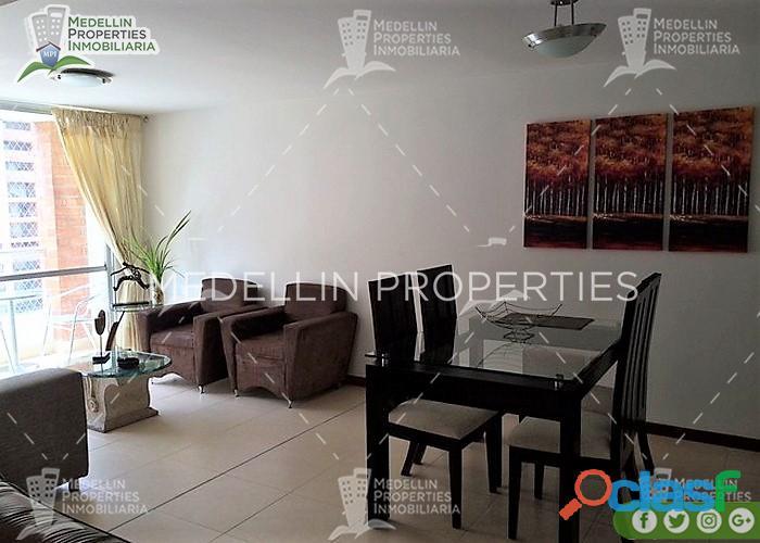 Apartamentos Amoblados Baratos en Medellín Cód: 4116