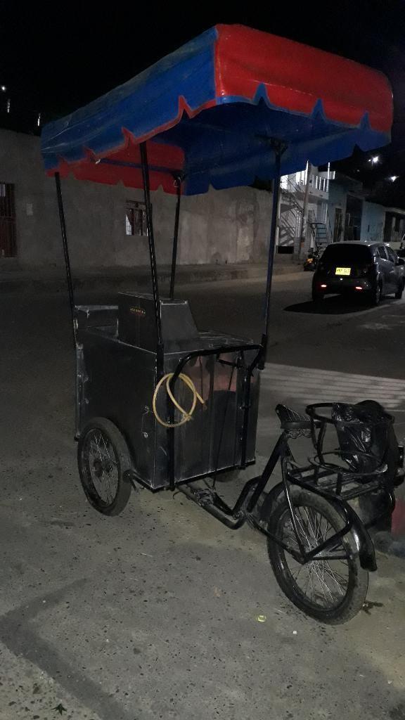 Vendo Triciclo de Comidas Rápidas Excele