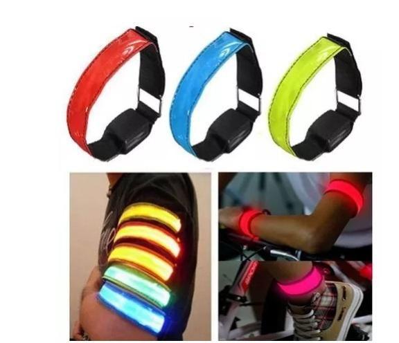 Bandas Led, novedosas para correr o adaptar a bicicletas