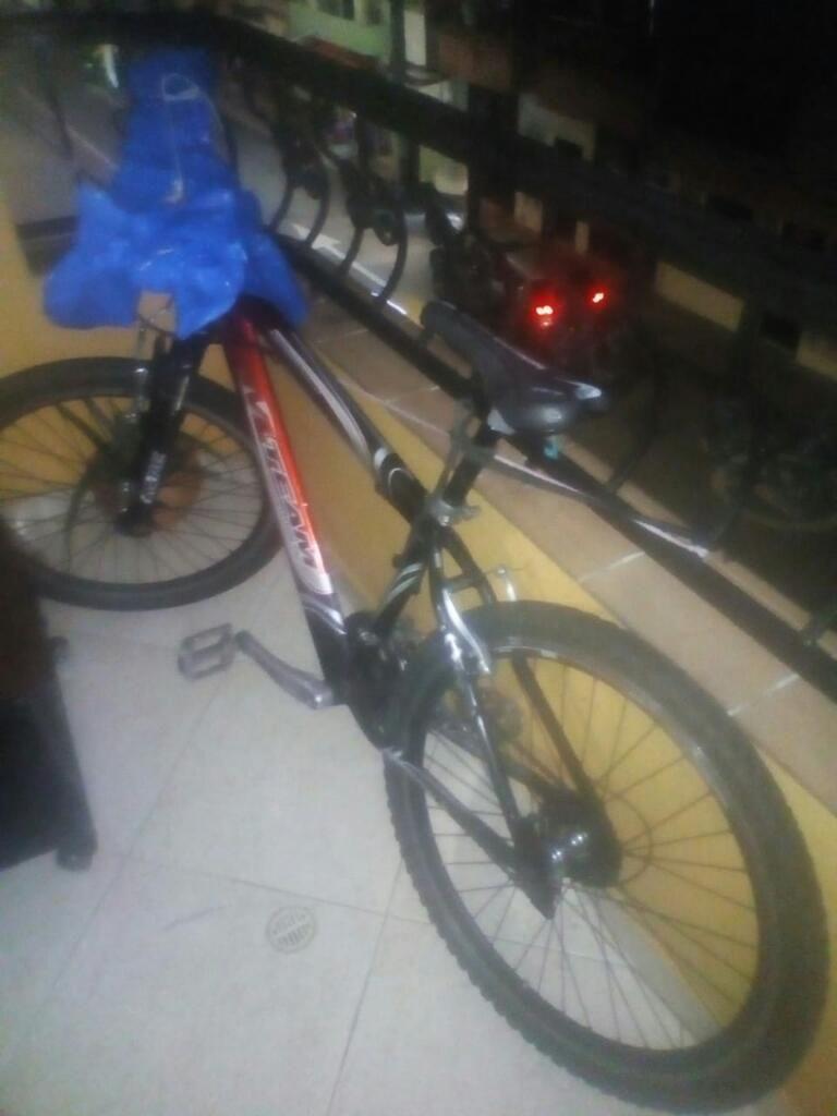 Bicicleta Gw en Aluminio con Cambios