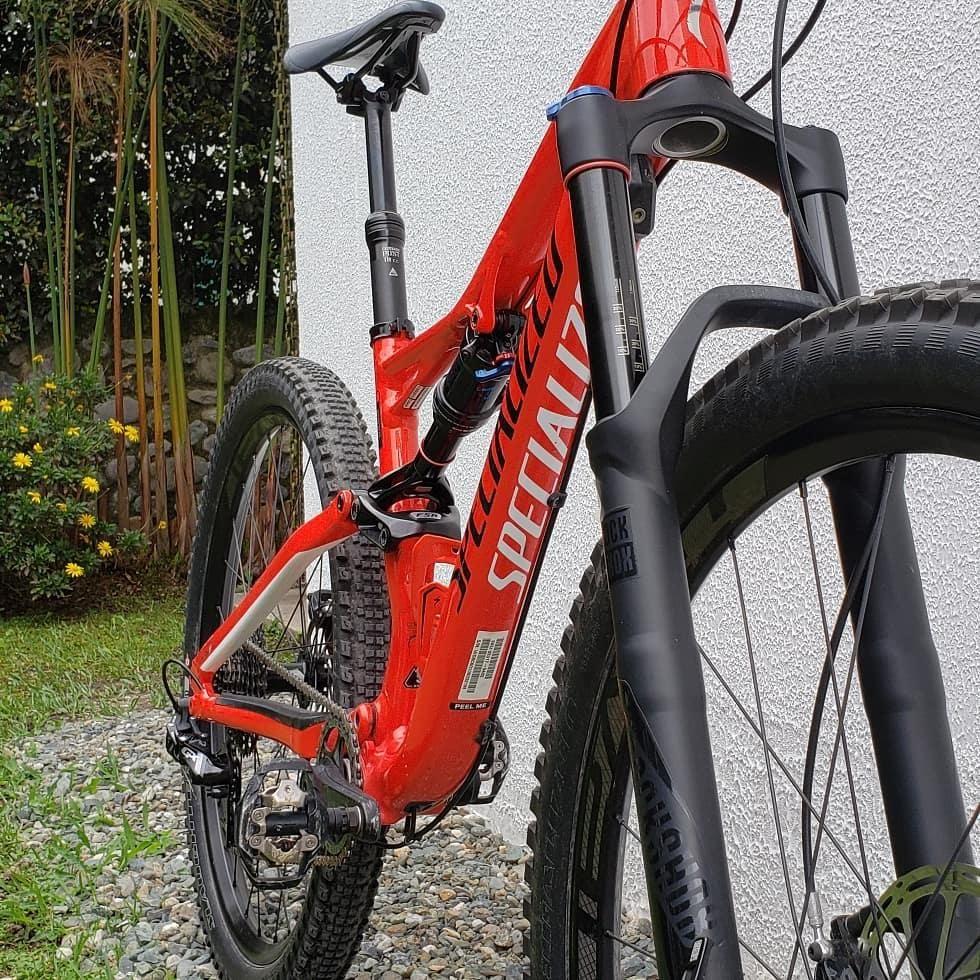 Bicicleta Specialized stumpjumper Modelo  Talla S