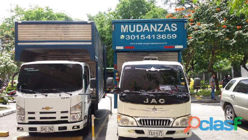 MUDANZAS Y TRASTEOS BUCARAMANGA. TE COTIZAMOS 3015413659