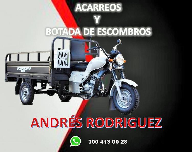 ACARREOS Y BOTADAS DE ESCOMBROS