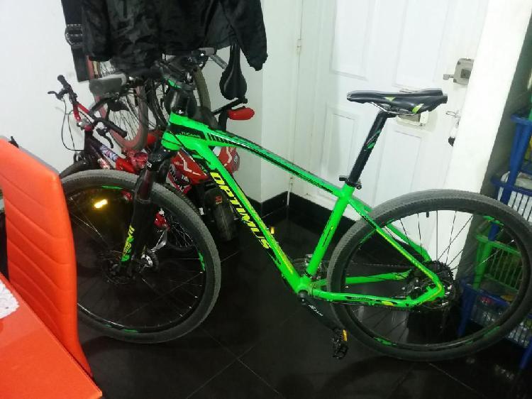 Bicicleta Optimus Tucana Verde