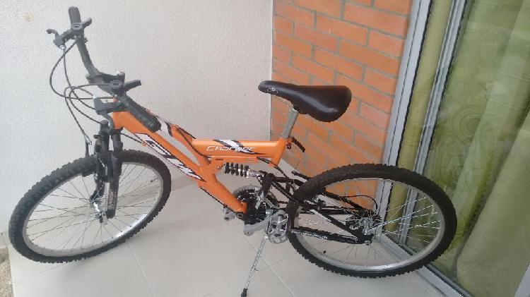 Bicicleta Todoterreno Gw con Poco Uso