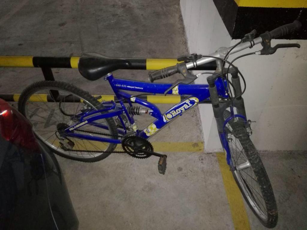 Bicicleta con Cambios Y Amortiguador