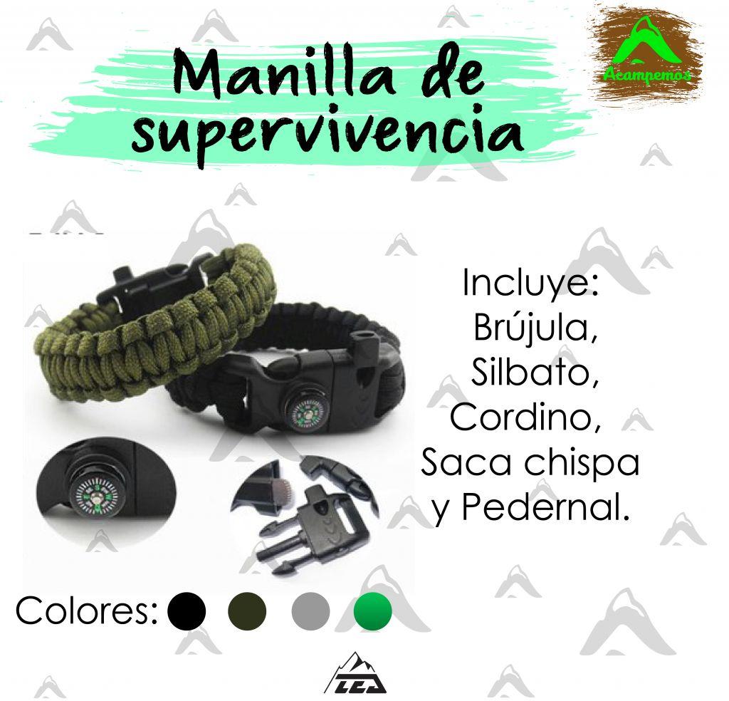 MANILLA DE SUPERVIVENCIA 5 EN 1