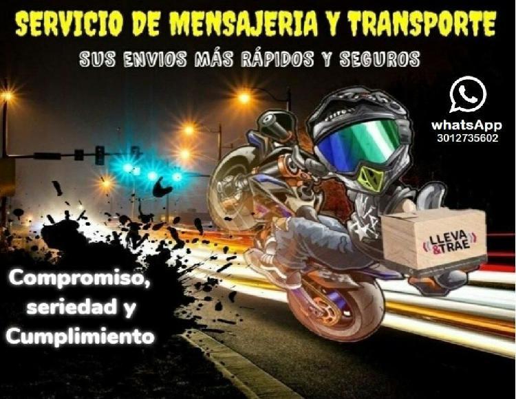 Servicio de Mensajeria Y Transporte