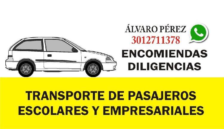 TRANSPORTE DE PASAJEROS EN BARRANQUILLA