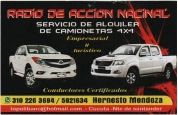 alquiler de vehiculos 4x4