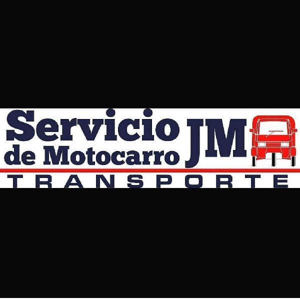 servicio de motocarro para transporte de motos, mudanzas