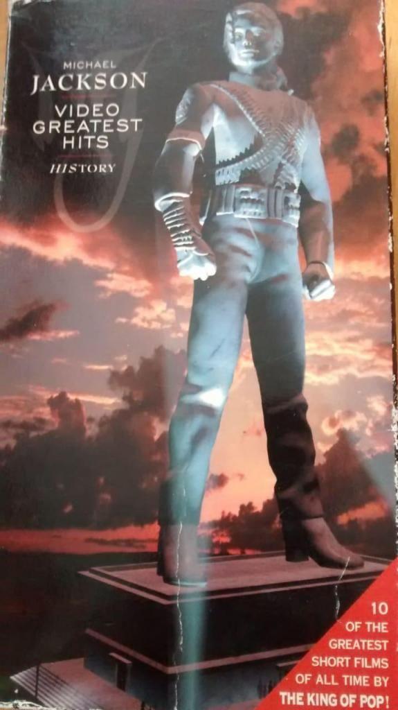 2 Videos en VHS de Michael Jackson, The king of pop,