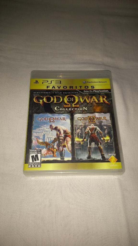 God Of War Collection para Play 3 Ps3