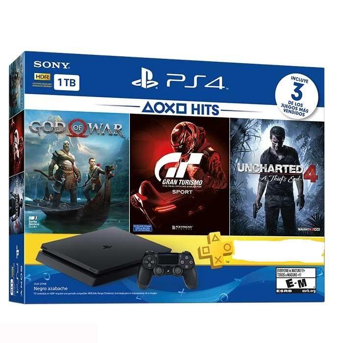 PS4 Slim 1 tera 2 controles