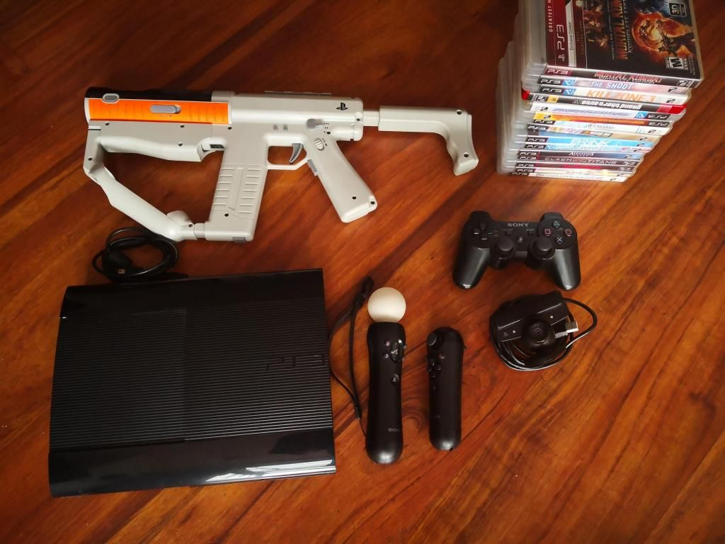 Vendo PS3 super Slim casi sin uso