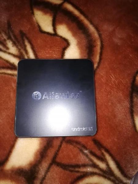 CONVERTIDOR A SMARTV BOX ALFAWISE ANDROID.. CASI NUEVO