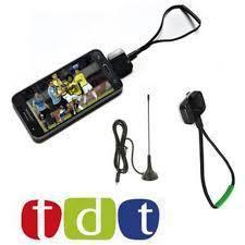 Decodificador Tdt Celular Y Tablet Phone Android 3 Antenas