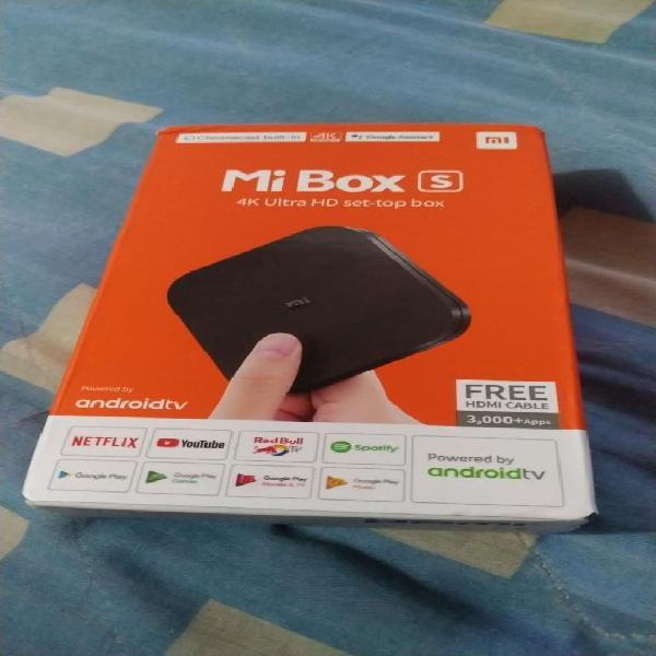 Mi Box S Xiaomi 4k