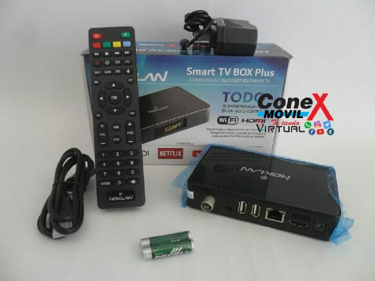 TV BOX Hoklan Con TDT Ram 1GB Memoria 8GB Kit Completo