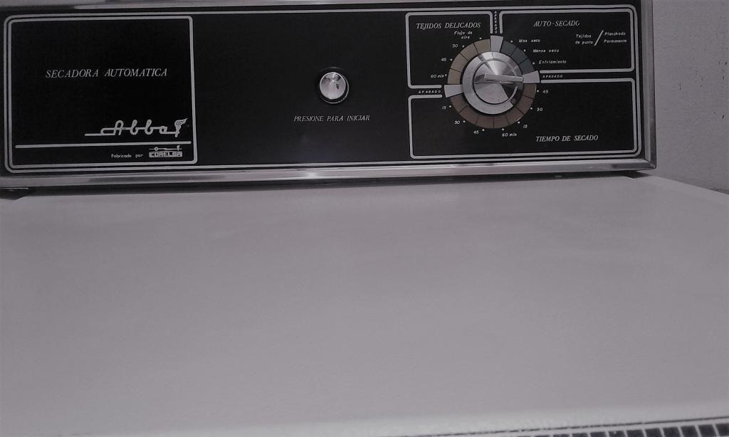 Secadora de ropa, eléctrica, automática. Abba 12 Kgr