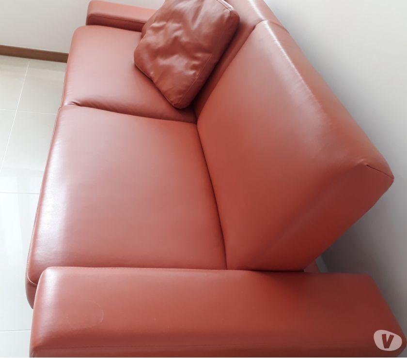 Sofá cama individual en Cuerina