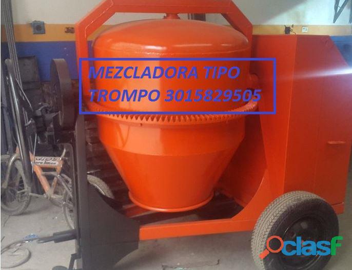 mezcladora dos bultos motor diesel de 10 hp