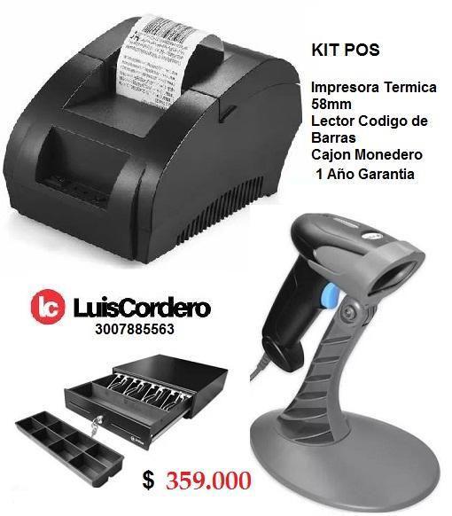 Impresora Cajon Monedero Lector de Barras Nuevo Garantia 1
