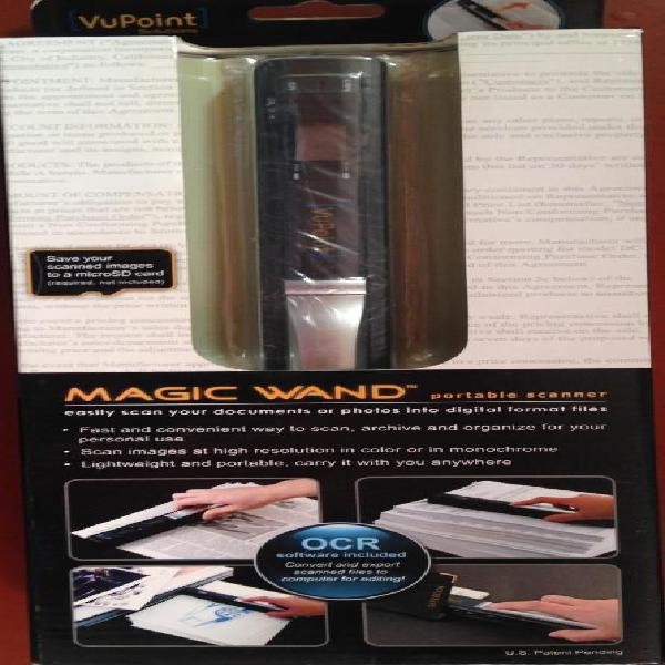 Scanner Portatil Magic Wand OCR