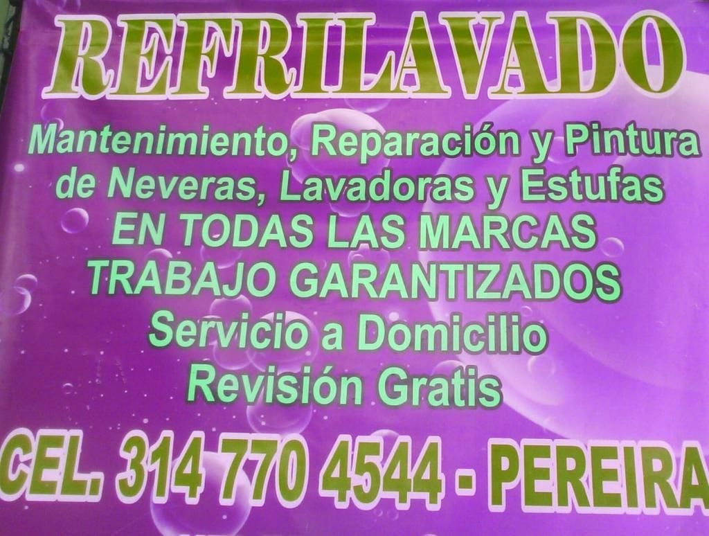 Arreglo de Lavadoras Y Neveras