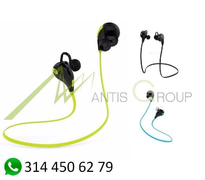 Audífono Inalámbrico Bluetooth Qy7 Ios Android Pc