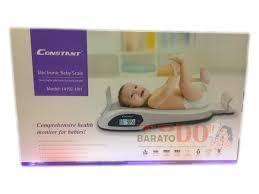 Báscula Electrónica Digital Pesa Bebes 25kg Estatura