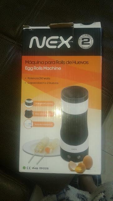 EggMaster Máquina Antiadherente de Hacer Huevos en Rollito