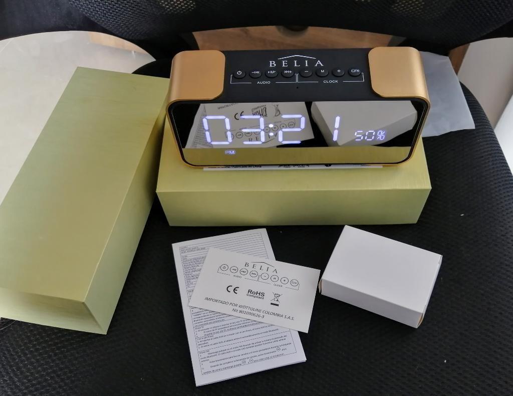 Radio, Reloj, Despertador, Altavoz Belia