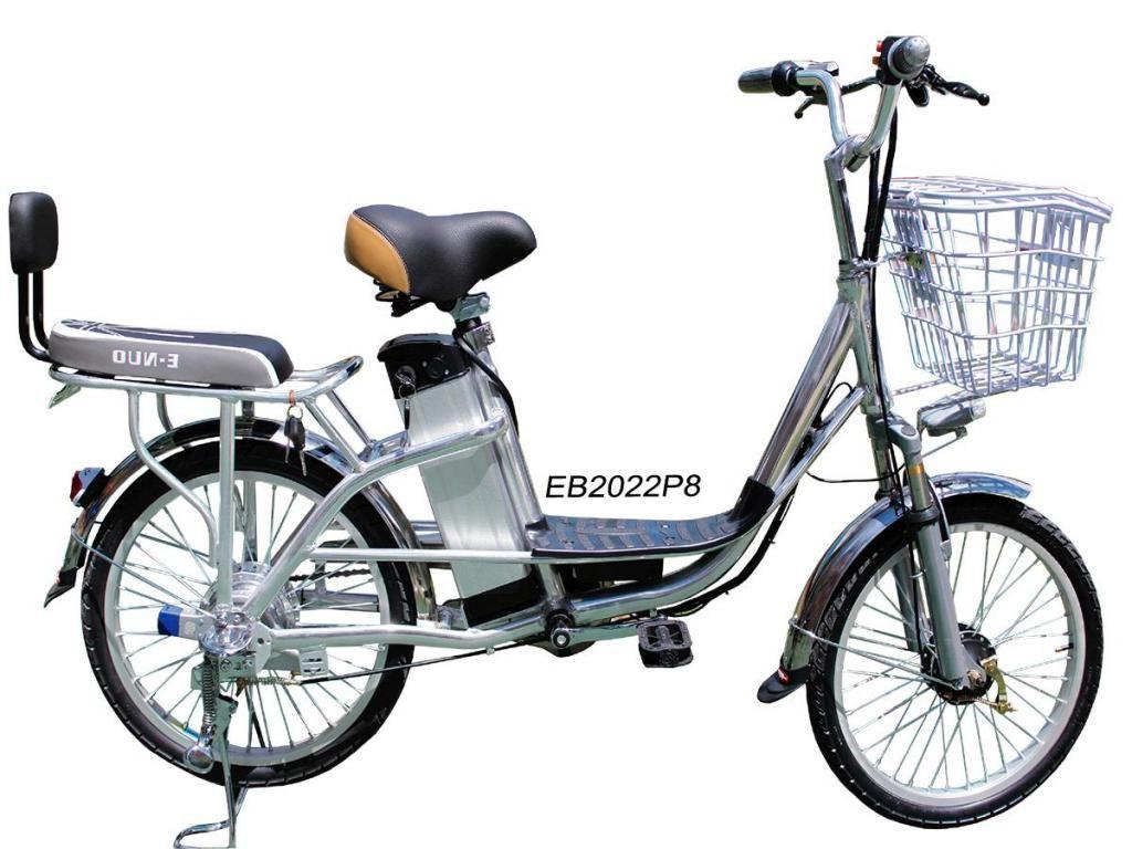 Bicicleta Electrica en aluminio Dos puestos