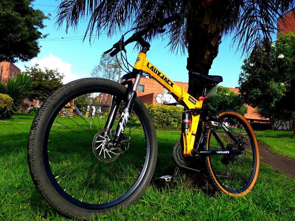 Bicicleta Montaña Falta de Uso Como Nuev