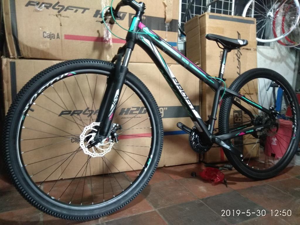 Bicicleta Todo Terreno Rin 29 en Alumin