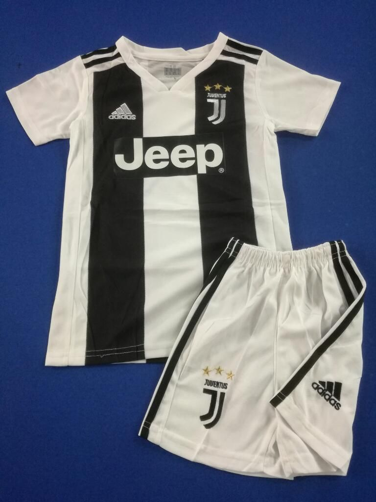 Camiseta Y Pantaloneta Juventus Niño