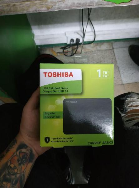 Disco Duro Portable Toshiba 3.0 1 TB Nuevo.
