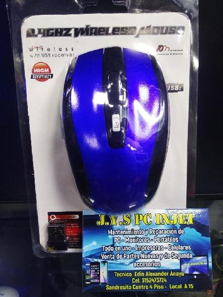Mouse Inalambrico de 2.4 Ghz