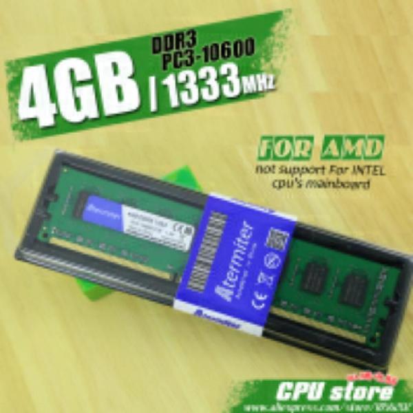 Nueva Memoria Ram Ddr3 4gb 1600